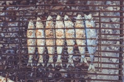 poisson barbecue mets vins cave du temple