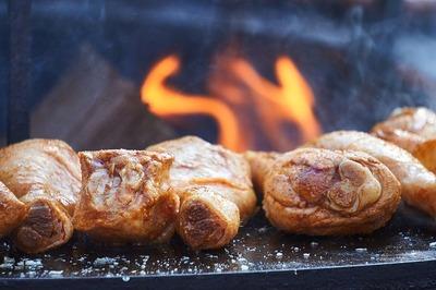 poulet barbecue mets vins cave du temple