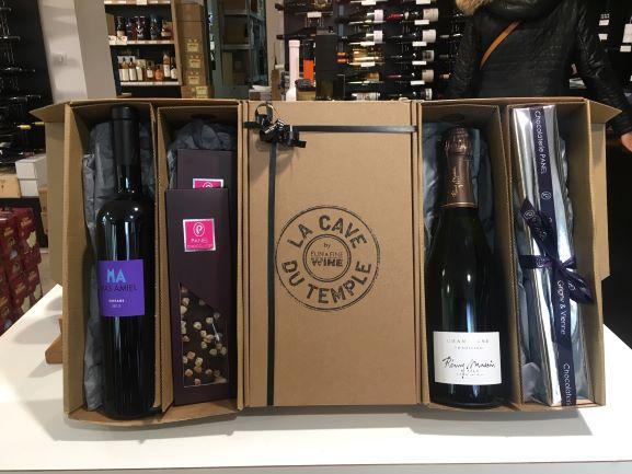Coffrets Cadeaux Vins Et Champagnes Vienne La Cave Du Temple