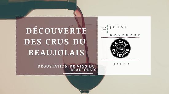 Degustation Beaujolais novembre